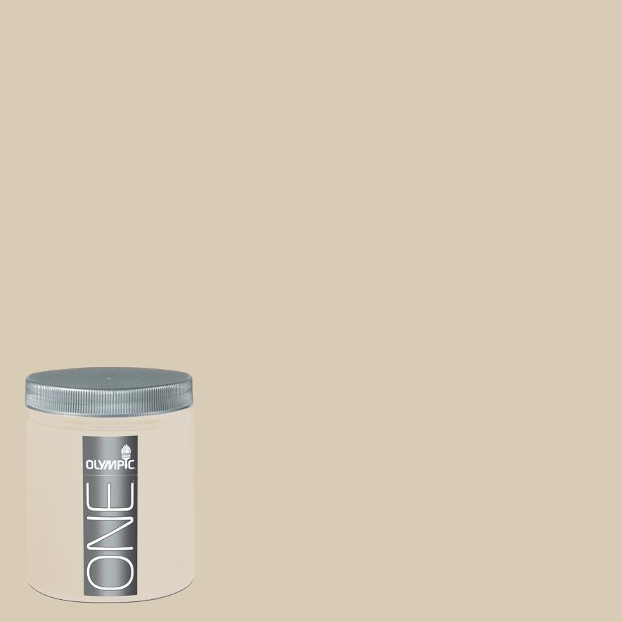 Olympic 8-oz Toasted Almond Interior Satin Paint Sample