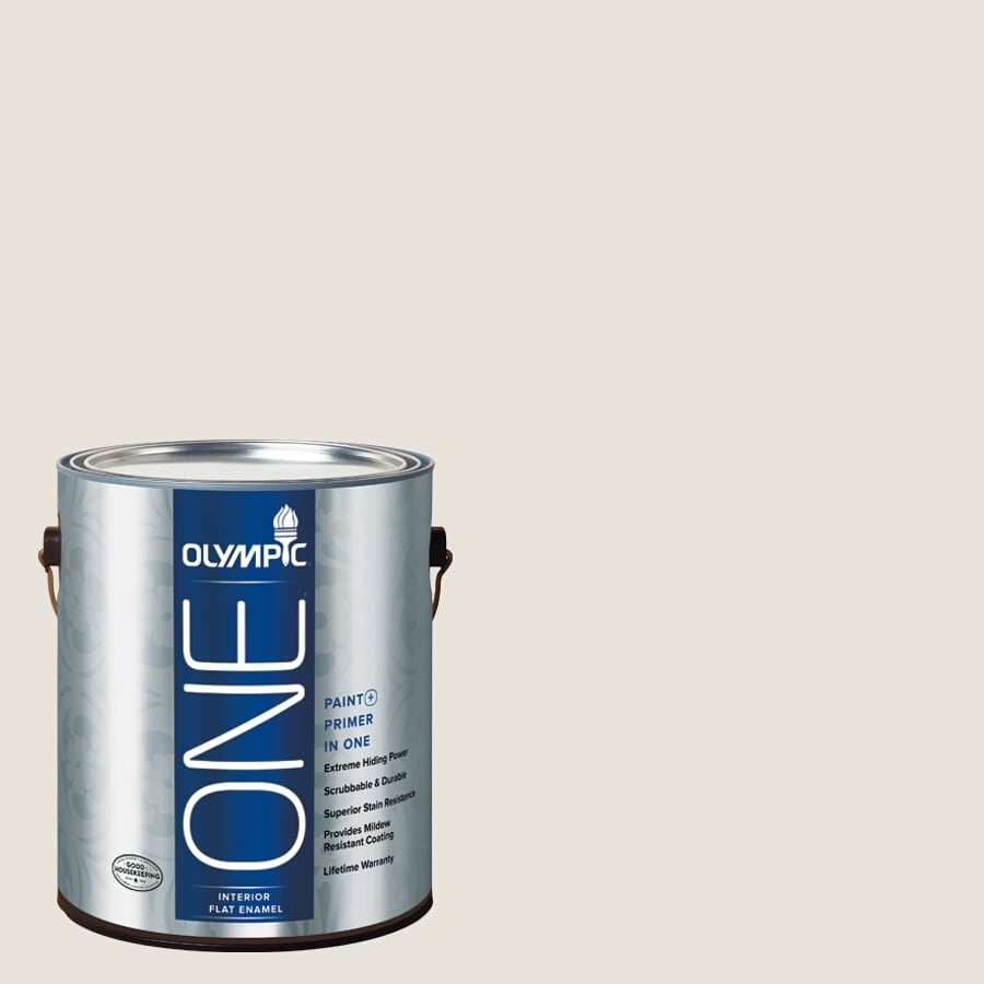 Olympic ONE Dogwood Blossom Flat Latex Interior Paint and Primer In One (Actual Net Contents: 124-fl oz)