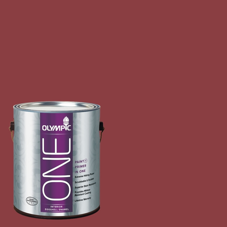 Olympic ONE Apple-A-Day Eggshell Latex Interior Paint and Primer In One (Actual Net Contents: 114-fl oz)