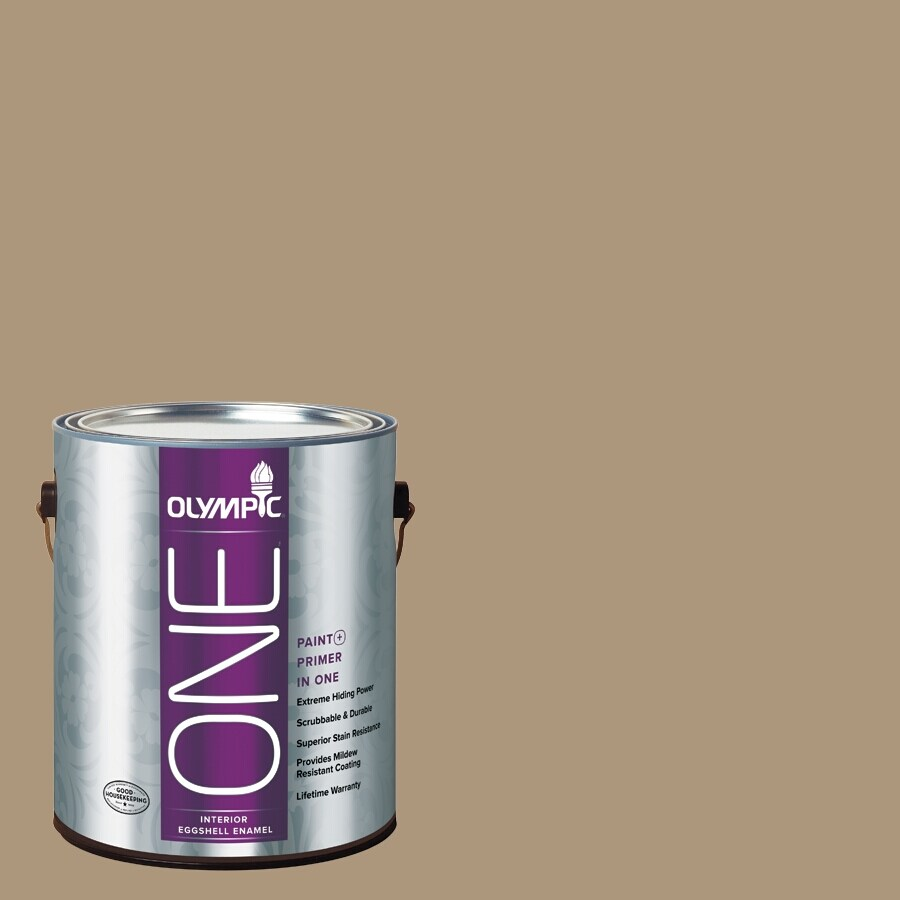 Olympic ONE Stony Creek Eggshell Latex Interior Paint and Primer In One (Actual Net Contents: 116-fl oz)