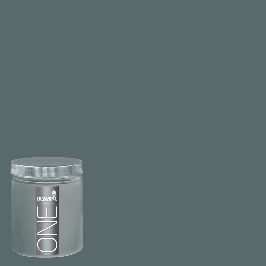 Olympic 8-oz Juniper Berry Interior Satin Paint Sample