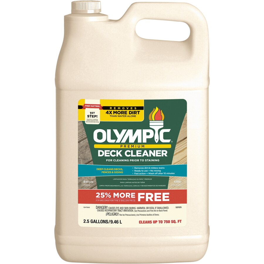 Shop Olympic 319 9 Fl Oz Deck Cleaner At Lowes Com