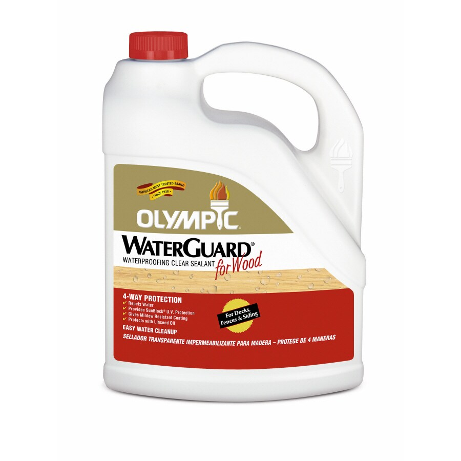 Olympic Waterguard Clear Clear Exterior Stain (Actual Net Contents: 128-fl oz)