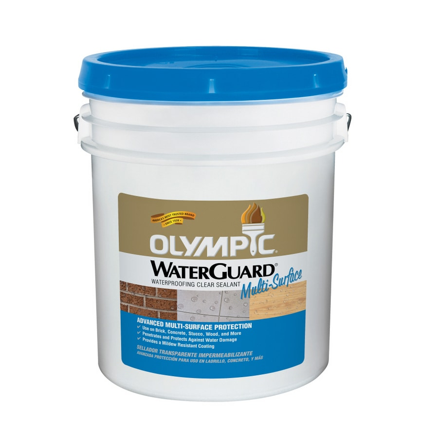 Olympic 5-Gallon Clear Multi-Surface Waterproofer