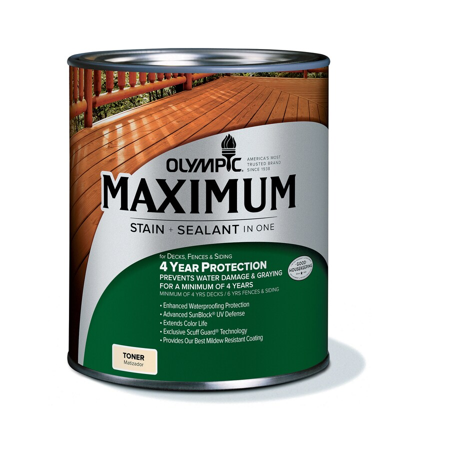 Olympic Maximum Redwood Naturaltone Toner Exterior Stain (Actual Net Contents: 32-fl oz)