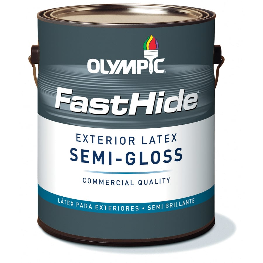FastHide 1-Gallon Exterior Semi-Gloss Multi Latex-Base Paint