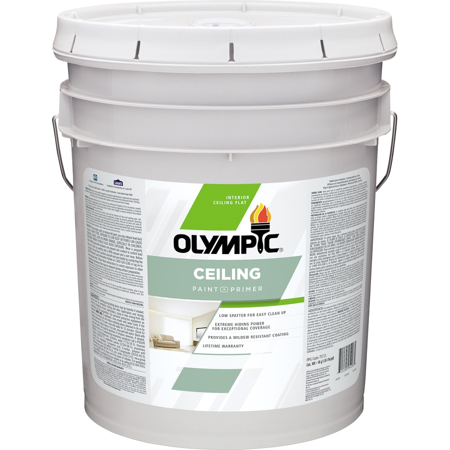 Olympic ONE ONE Tintable Flat Latex Interior Paint and Primer in One (Actual Net Contents: 620-fl oz)