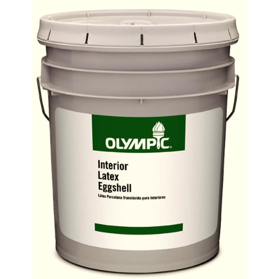Olympic Clear Eggshell Latex Interior Paint (Actual Net Contents: 579-fl oz)