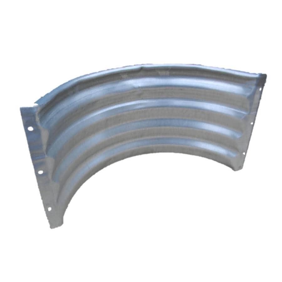 20-in W x 8-in D x 12-in H Round Foundation Vent Area Wall