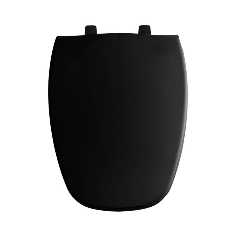 shop bemis black plastic elongated toilet seat at. Black Bedroom Furniture Sets. Home Design Ideas