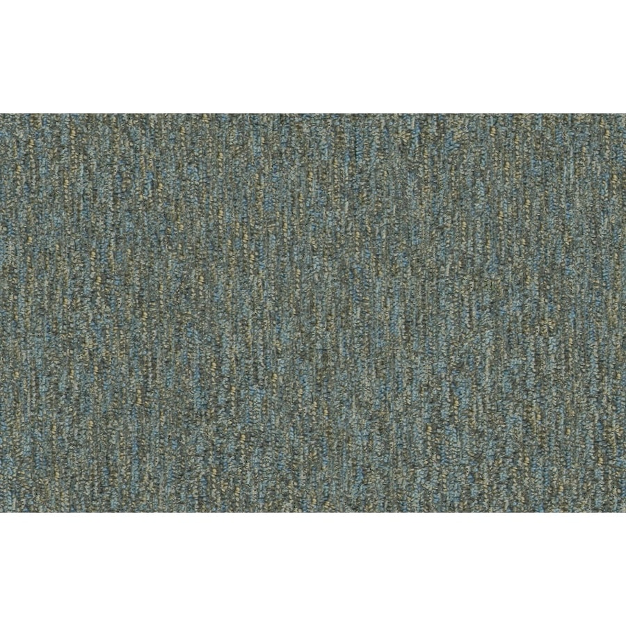 Home and Office Periwinkle Berber Indoor Carpet