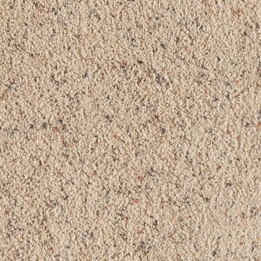 STAINMASTER Taos II Sifted Flour Berber Indoor Carpet