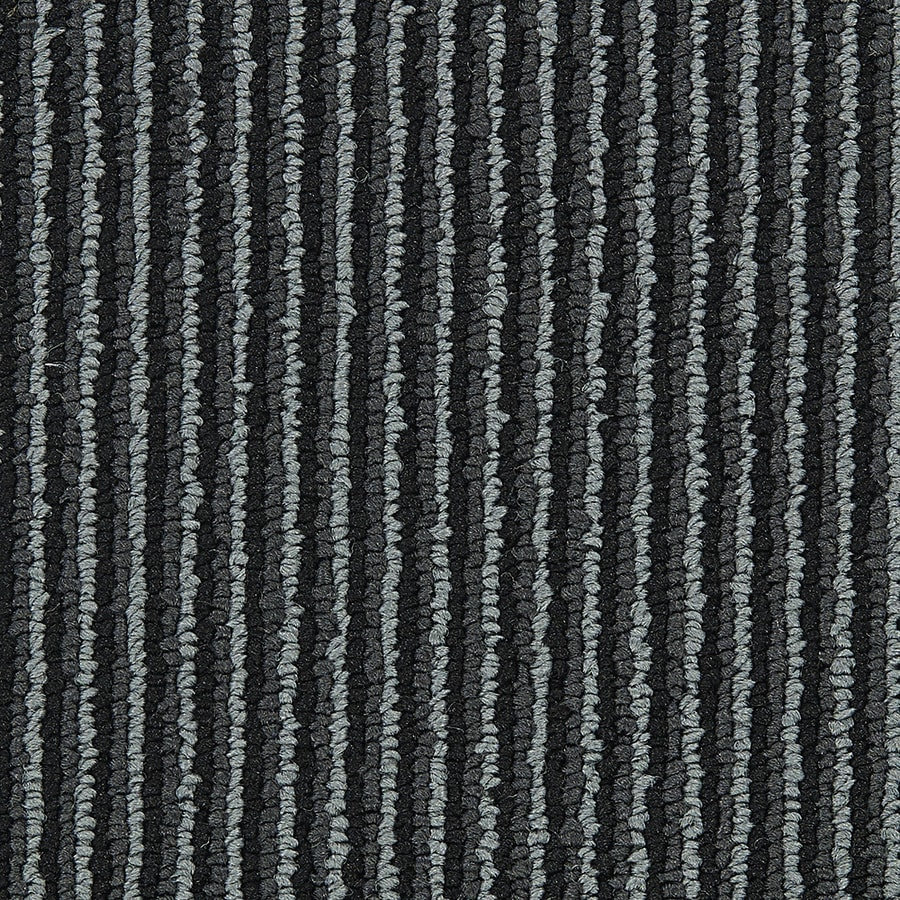 Coronet Promoter 18-Pack 24-in x 24-in Lead The Pack Indoor Berber Glue-Down Carpet Tile