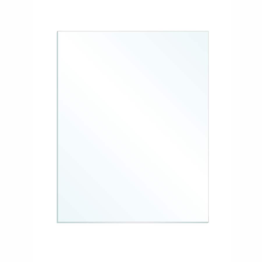 Gardner Glass Products 3/32-in x 20-in x 16-in Clear Replacement Glass for Windows, Cabinets, and Picture Frames