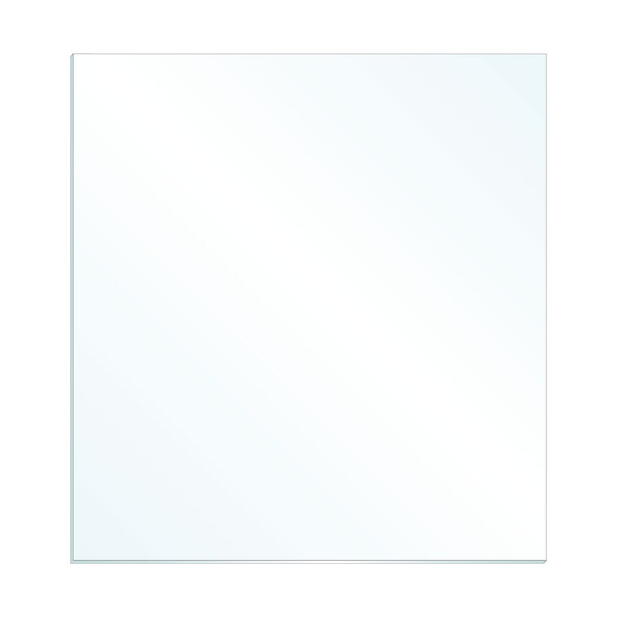 Gardner Glass Products 3/32-in x 24-in x 18-in Clear Replacement Glass for Windows, Cabinets, and Picture Frames
