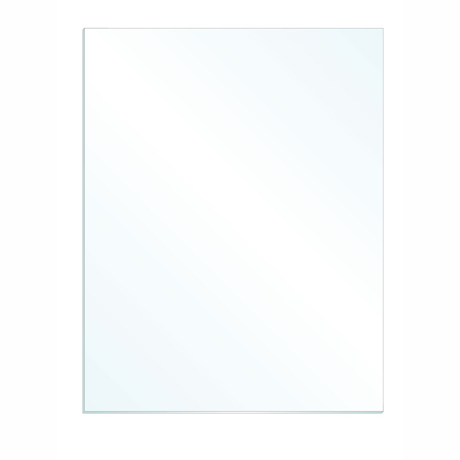 Gardner Glass Products 3/32-in x 26-in x 24-in Clear Replacement Glass for Windows, Cabinets, and Picture Frames