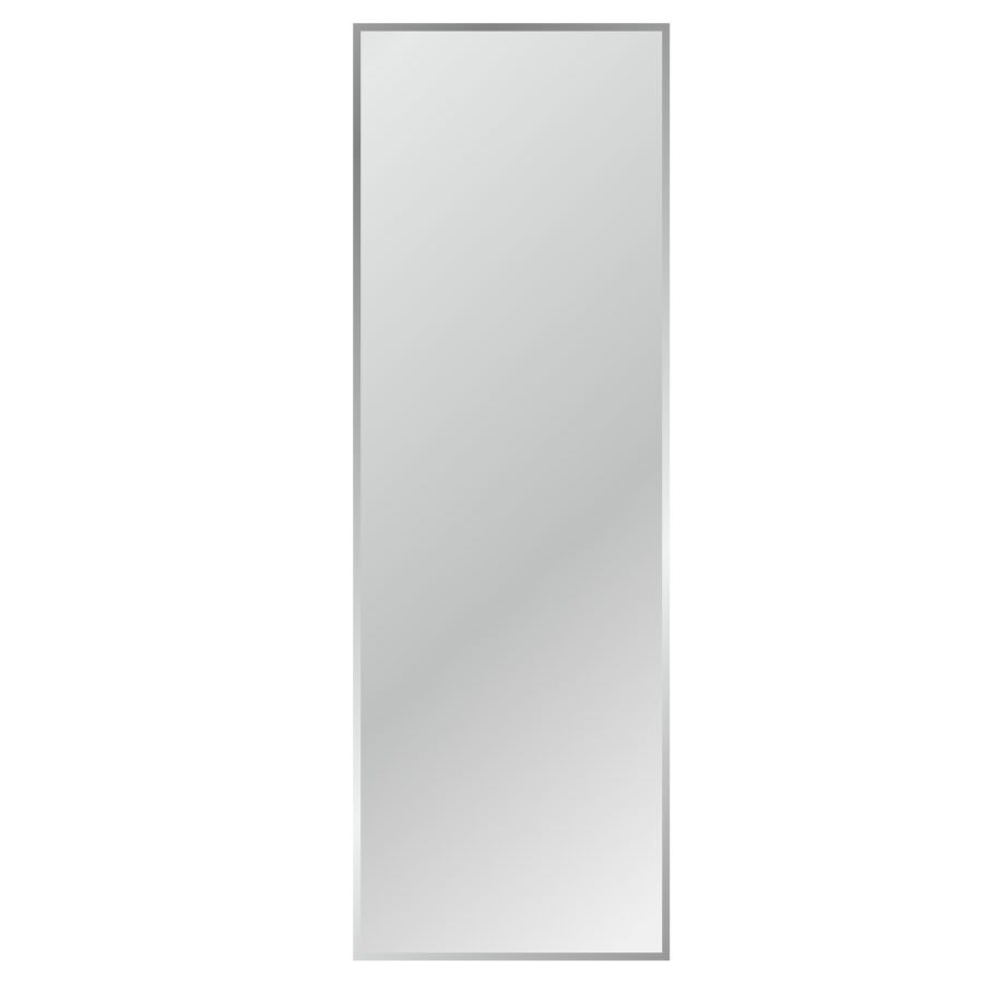 Gardner Glass Products 20-in x 68-in Silver Beveled Rectangle Frameless Traditional Wall Mirror