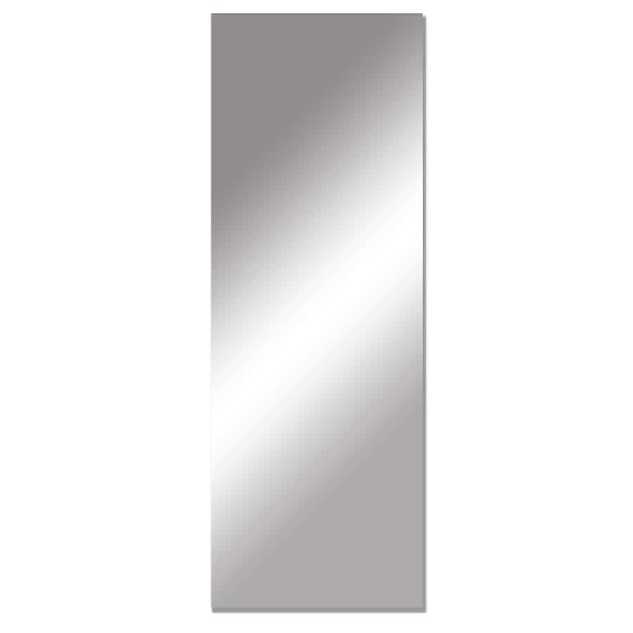Gardner Glass Products 24-in x 68-in Silver Polished Rectangle Frameless Traditional Wall Mirror