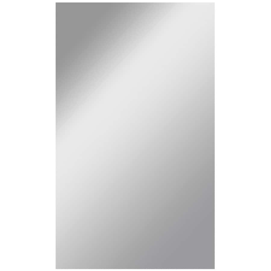 Dreamwalls 36-in x 60-in Silver Polished Rectangle Frameless Traditional Wall Mirror