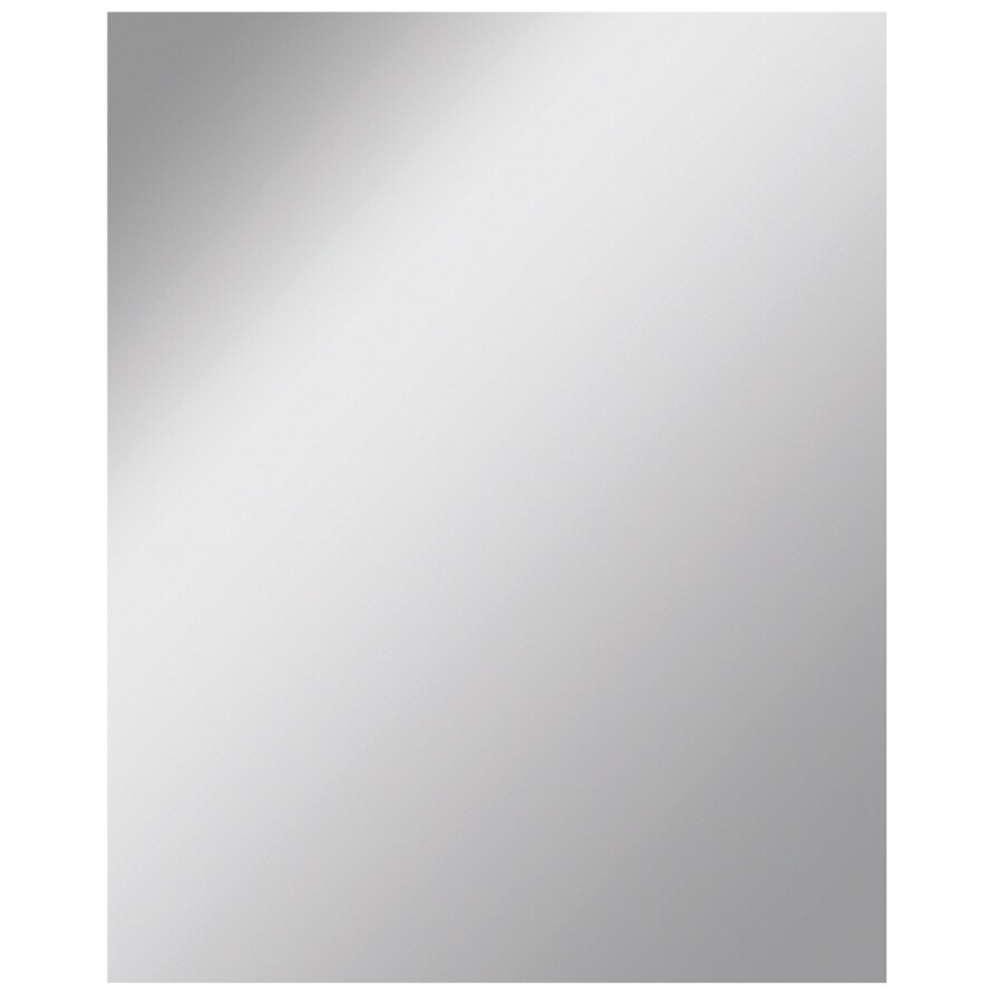 Shop dreamwalls 48 in x 60 in silver polished rectangle for Mirror 48 x 60