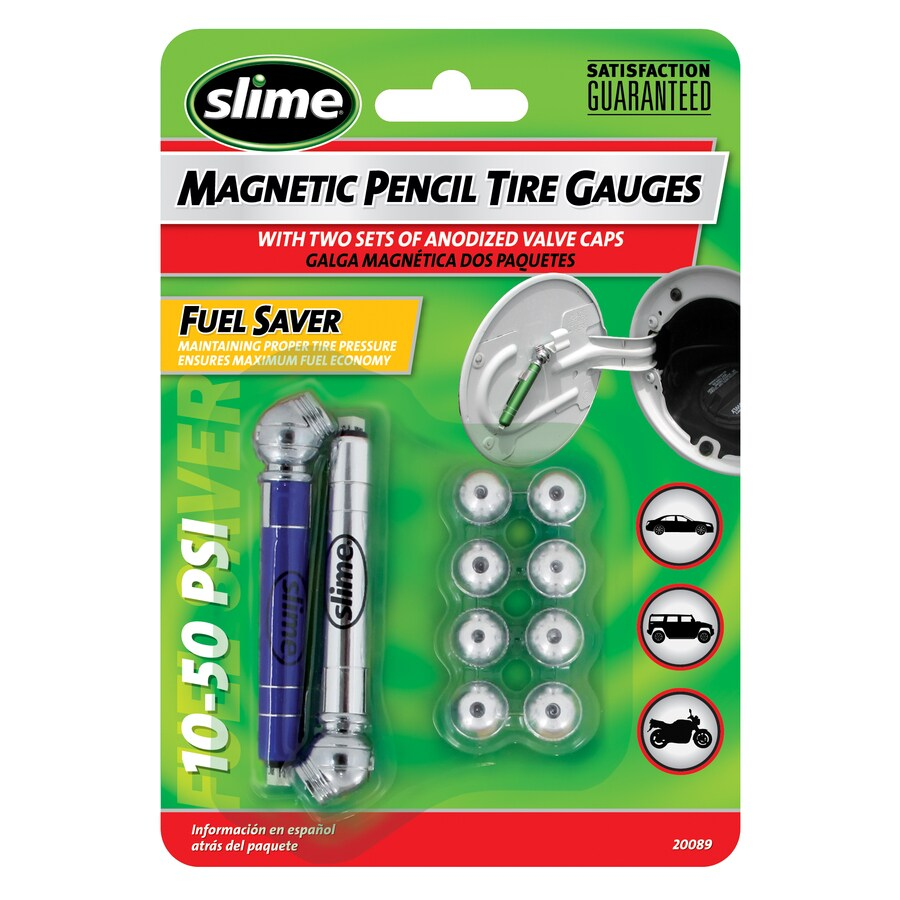 Slime 2-Pack Mini Magnet Pencil Gauges