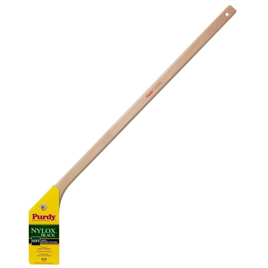 Purdy Nylox Black Nylon Flat Sash Paint Brush (Common: 3-in; Actual: 3-in)