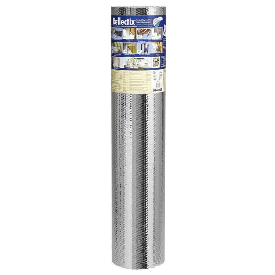 Reflectix 100-sq ft Reflective Roll Insulation (48-in W x 25-ft L)