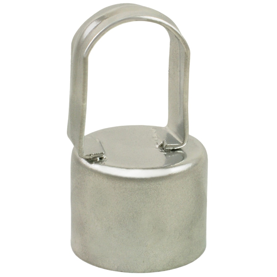 Galvanized Steel Chain-Link Fence Eye Top (Fits Common Post Measurement: 2-3/8-in; Actual: 2.62-in x 4-in)