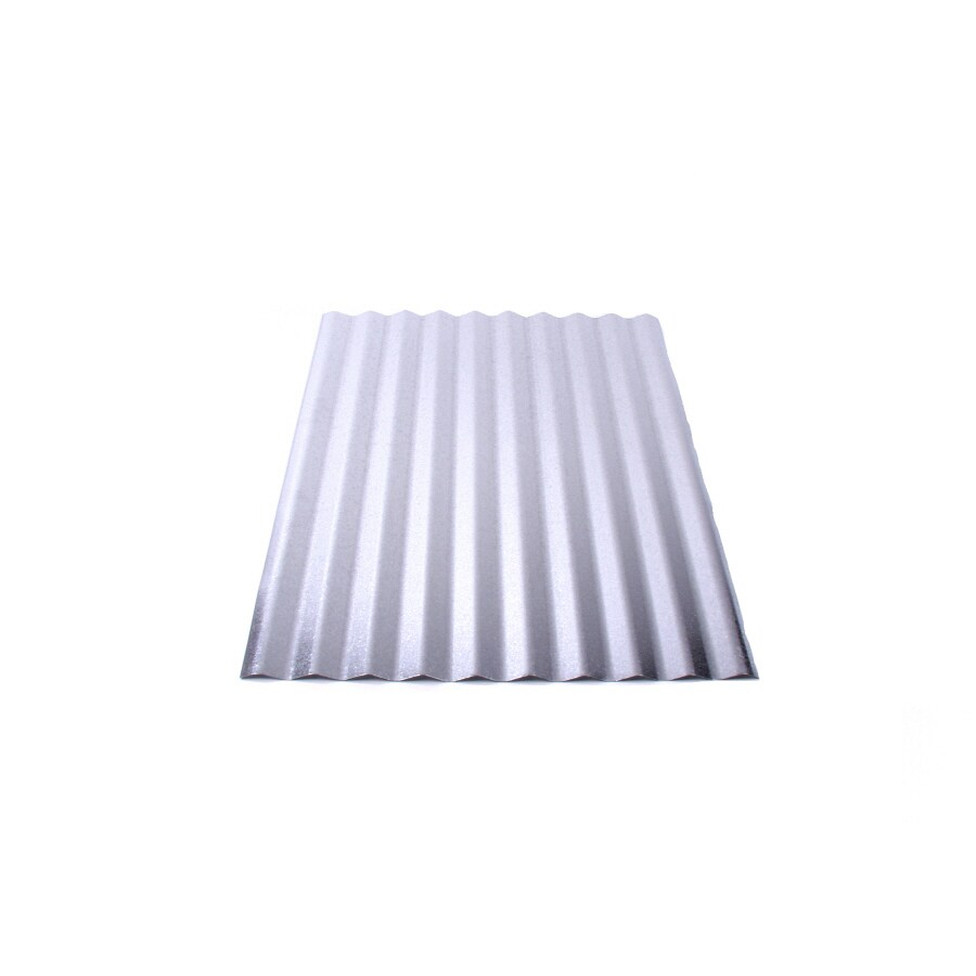 Shop Fabral 2 1 2 In Corrugated 2 16 Ft X 12 Ft Corrugated