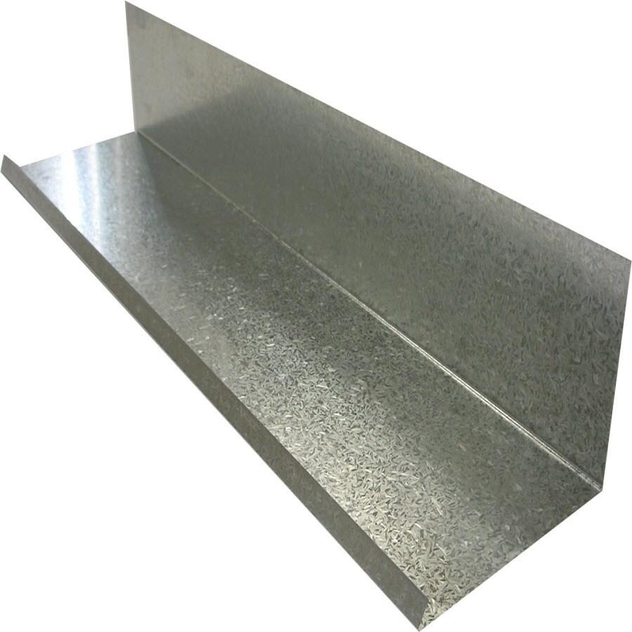 Fabral 5 Rib 26-in x 126-in Metallic Undersill Metal Siding Trim