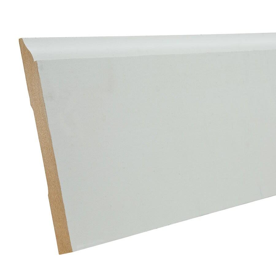 EverTrue 5.25-in x 12-ft Interior Composite Baseboard