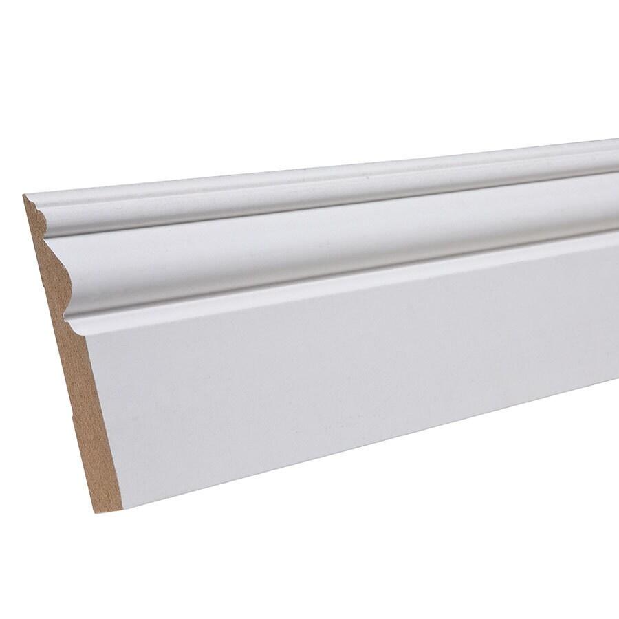 EverTrue 3.438-in x 12-ft Interior Composite Baseboard