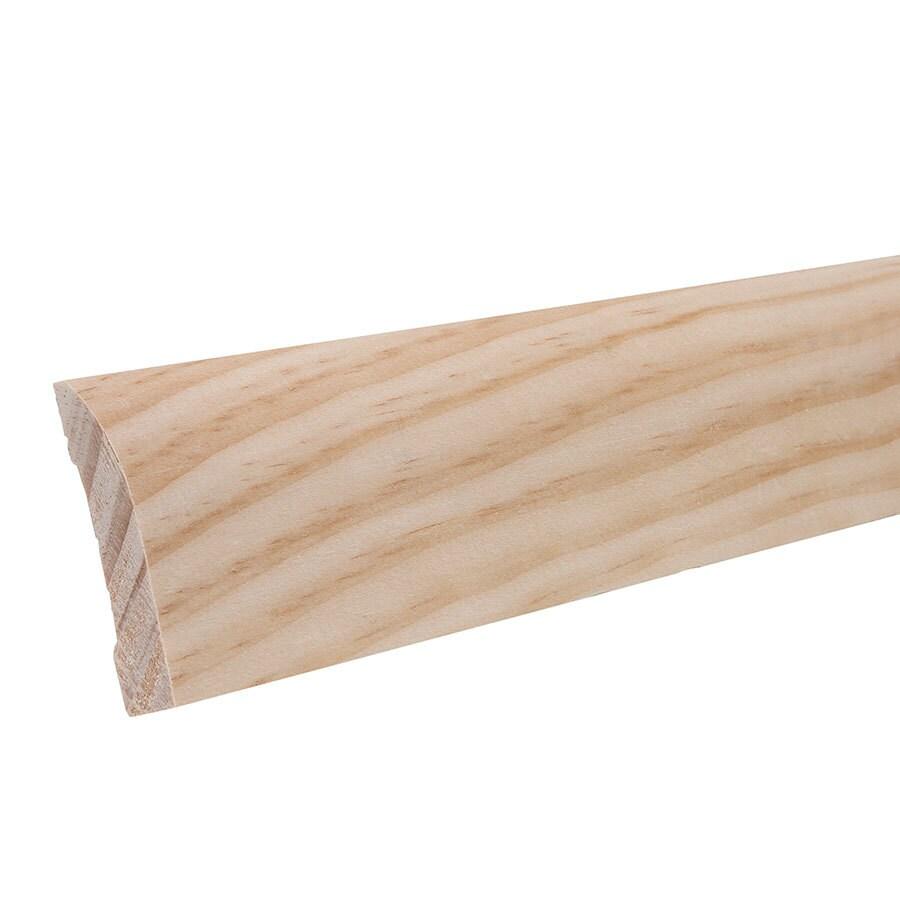 EverTrue 2.25-in x 12-ft Interior Pine Wood Baseboard