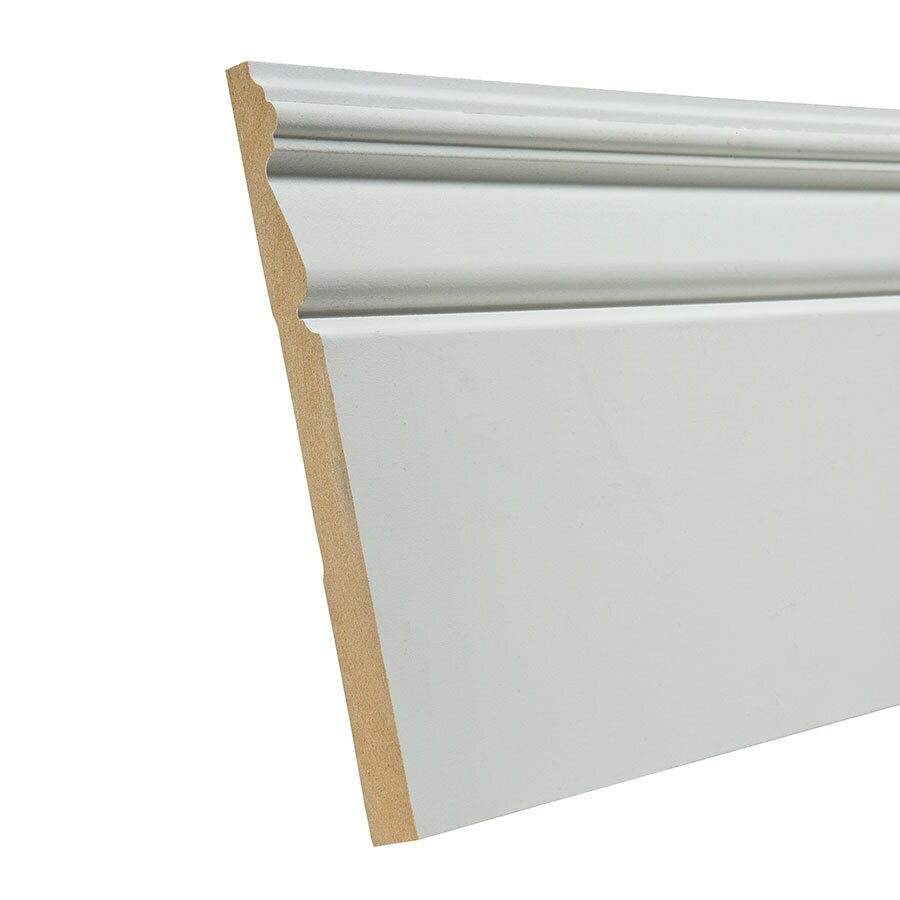 EverTrue 7.25-in x 8-ft Interior Composite Baseboard
