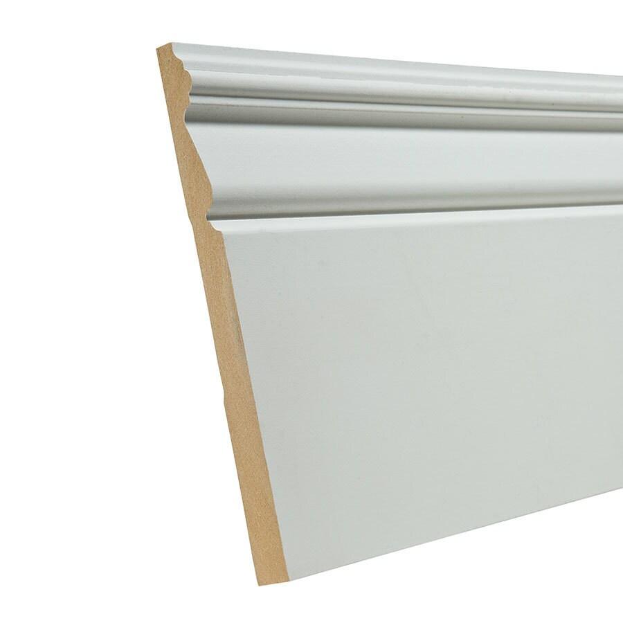 EverTrue 7.25-in x 12-ft Interior Composite Baseboard