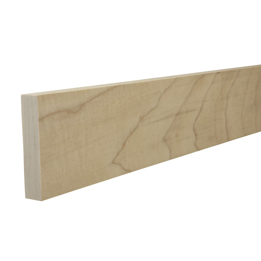 Poplar Board (Common: 1-in x 4-in x 12-ft; Actual: 0.75-in x 3.5-in x 12-ft)