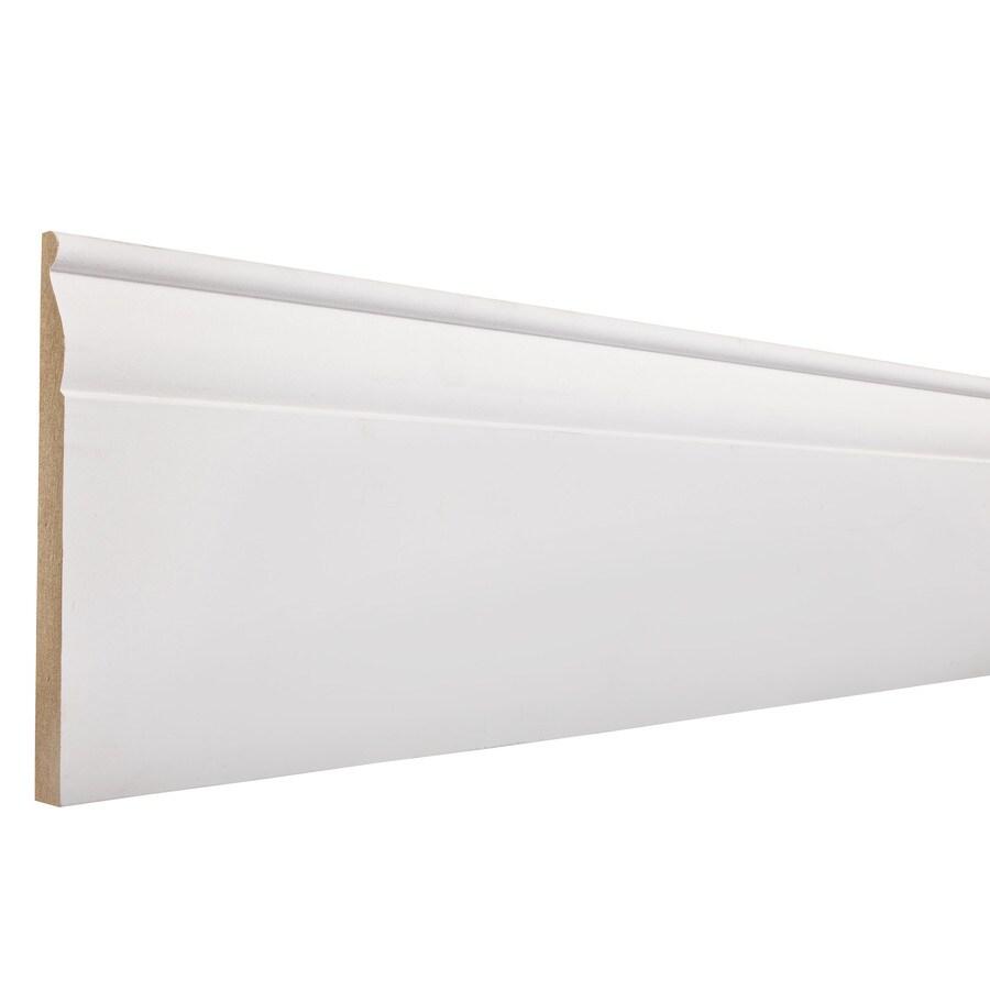 EverTrue 5.25-in x 8-ft Interior Composite Baseboard