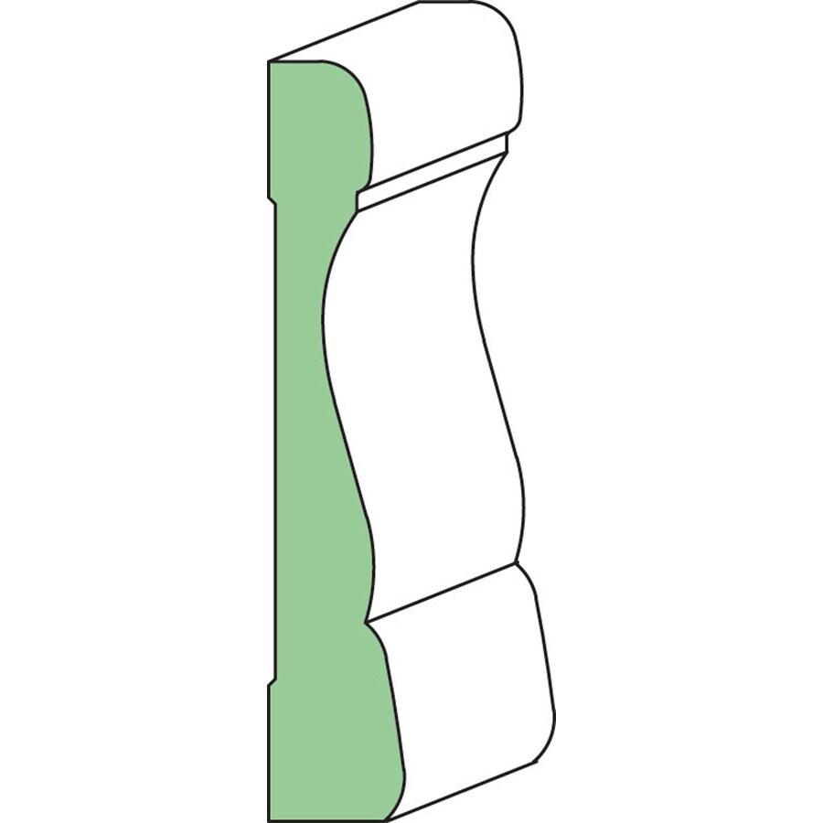 EverTrue 3-in x 8-ft Interior Primed Composite Window and Door Casing