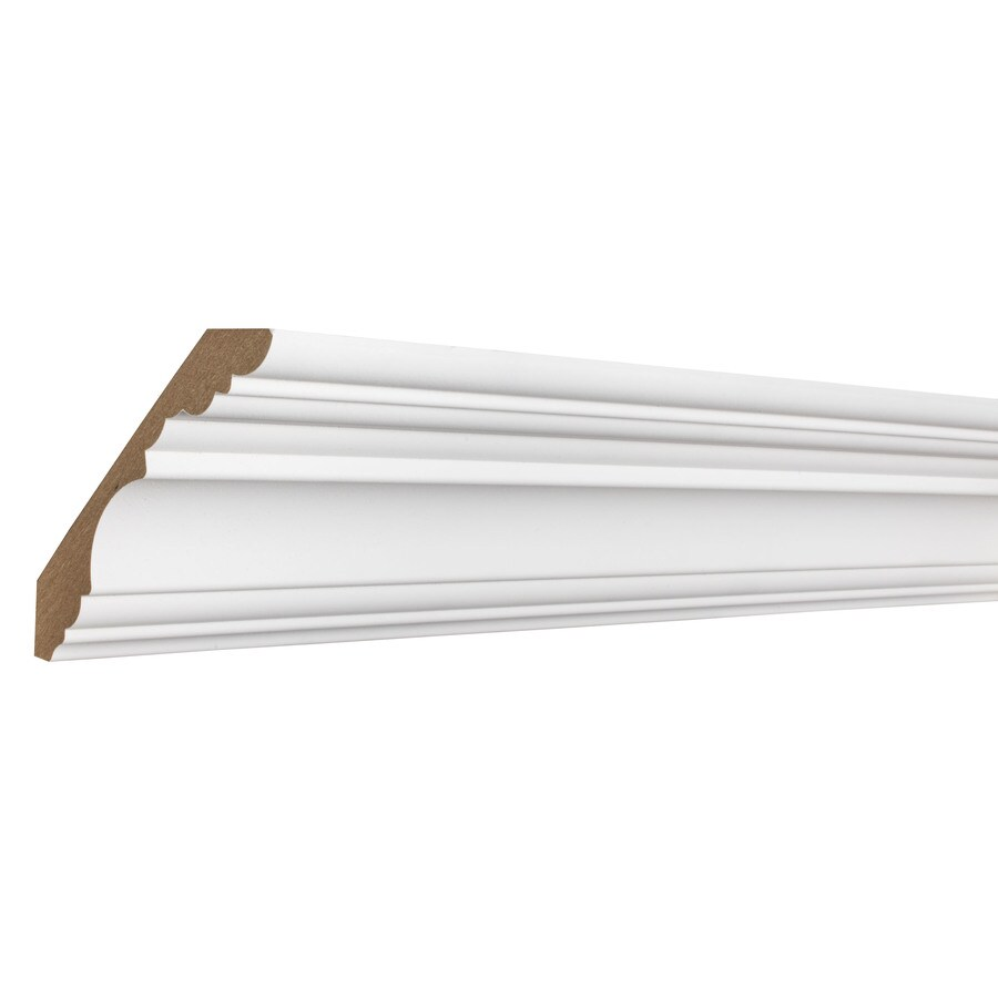 EverTrue 4.173-in x 12-ft MDF Crown Moulding