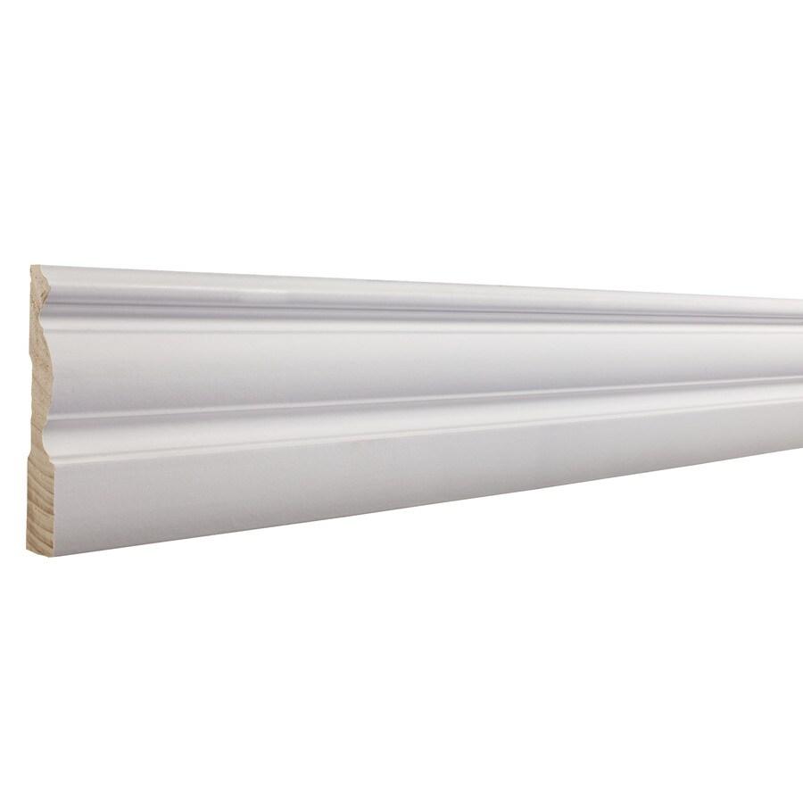 EverTrue 3.25-in x 16-ft Interior Pine Wood Baseboard