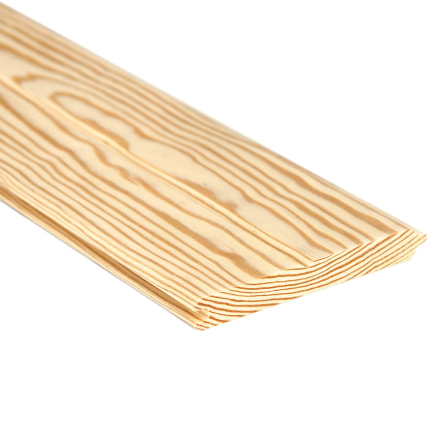 Tongue and Groove Pattern Stock Southern Yellow Pine Board (Common: 1-in x 6-in x 12-ft; Actual: 0.6562-in x 5.375-in x 12-ft)