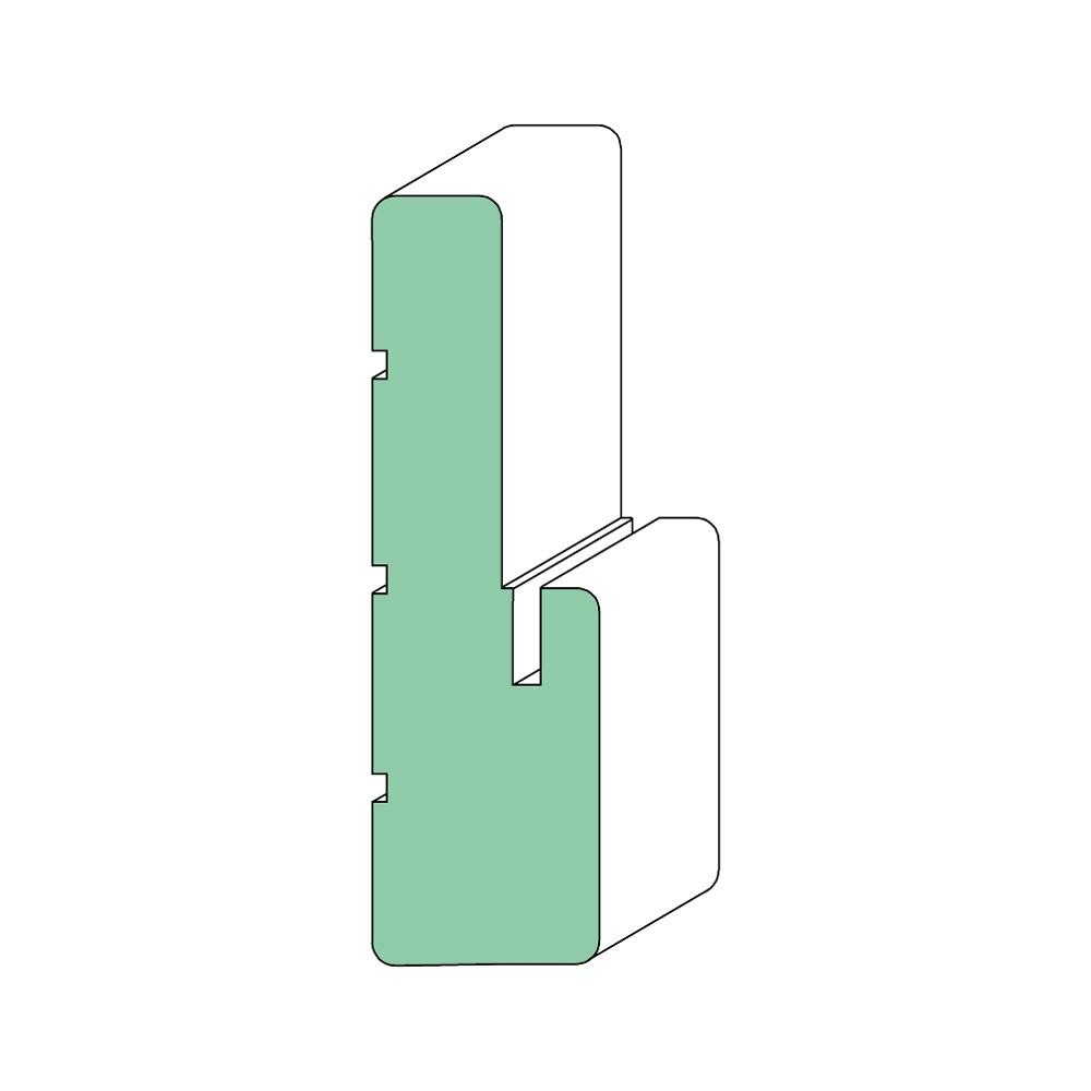 "EverTrue Primed Pine Exterior Frame Kit 36"""