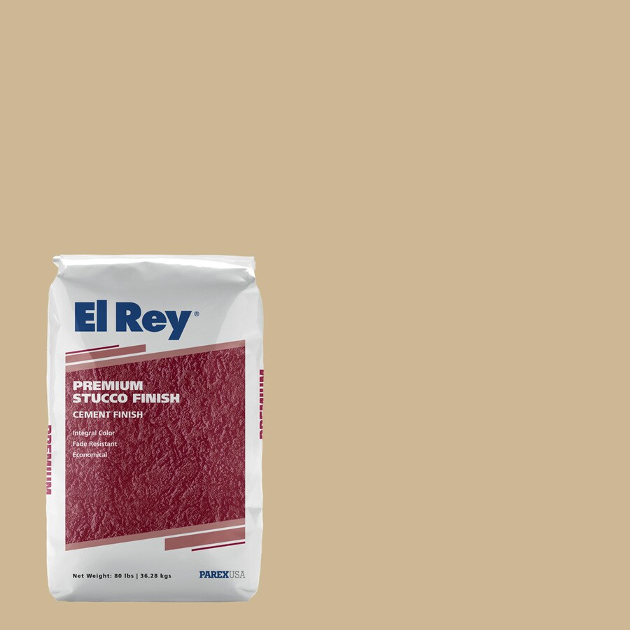 El Rey 80 lb Sand Stucco Color