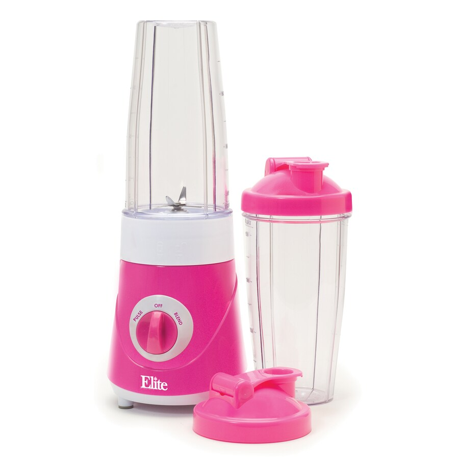 Elite 28-oz Pink 2-Speed 300-Watt Pulse Control Blender