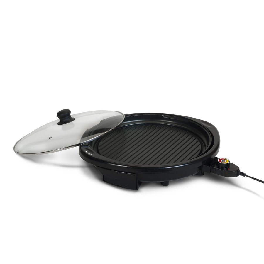 Elite 14-in L x 14-in W Non-Stick Contact Grill