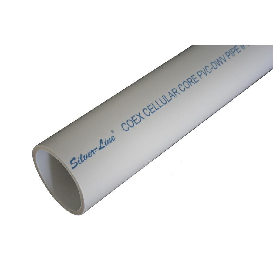 Silver-Line Plastics 2-in x 10-ft Sch 40 PVC DWV Pipe