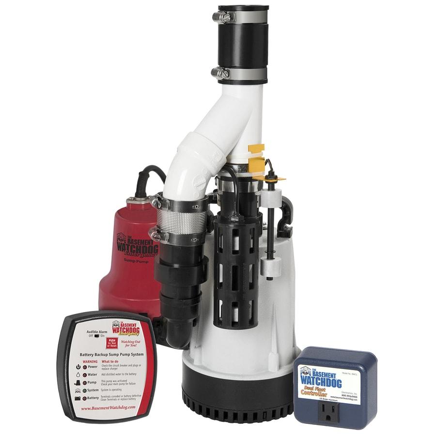 Basement Watchdog 0.33-HP Plastic Submersible Sump Pump