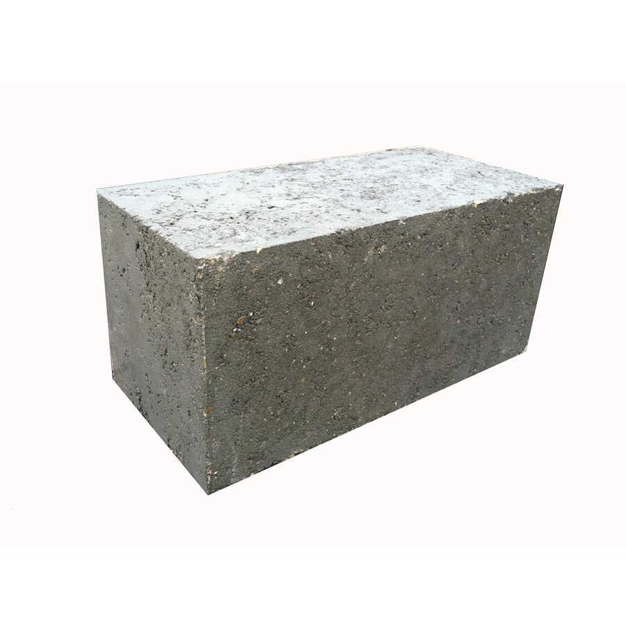 Solid Concrete Block (Common: 8-in x 8-in x 16-in; Actual: 7.625-in x 7.625-in x 15.625-in)