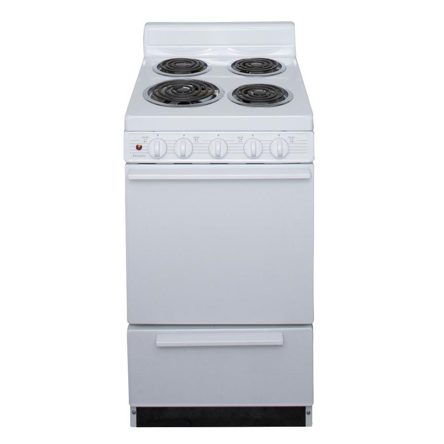Electric Kitchen Stoves Lowes ~ Shop premier freestanding cu ft electric range white