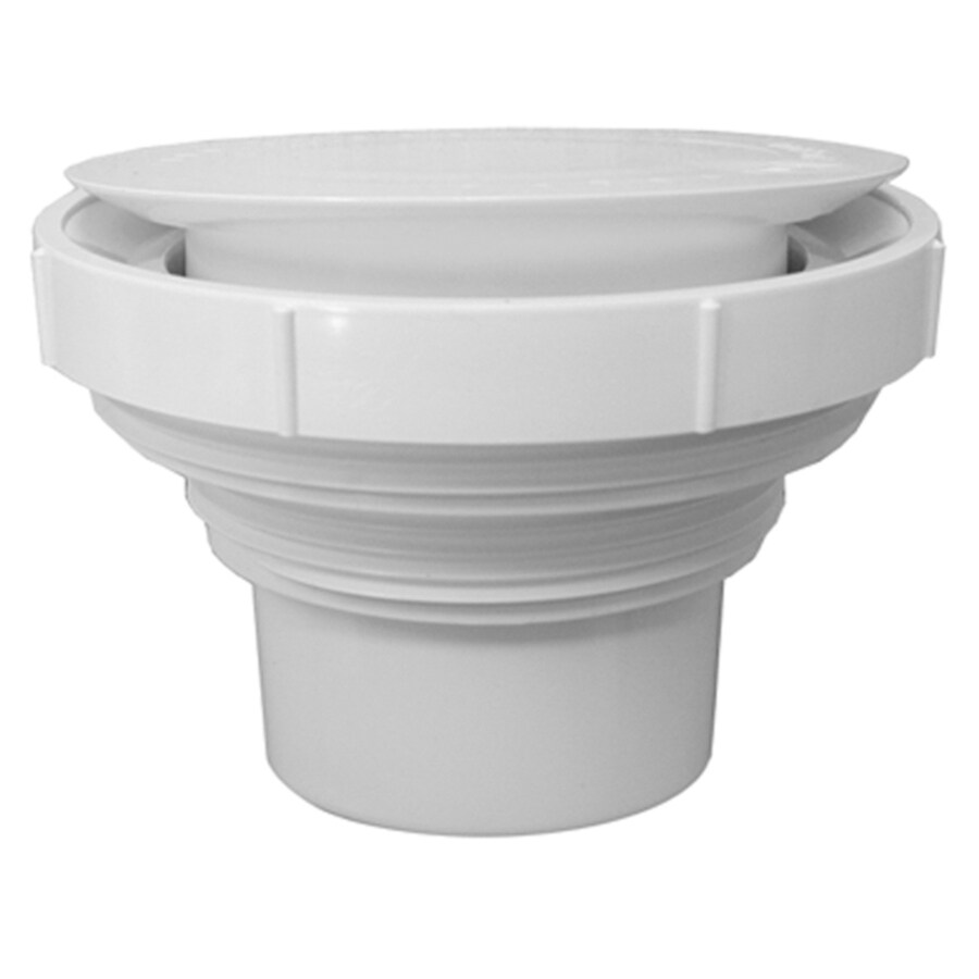 JSC 5-in dia PVC Drain Clean Out Adapter Sewer Fittings